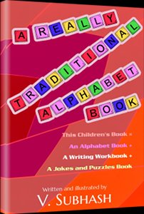 Book cover: A Really Traditional Alphabet Book