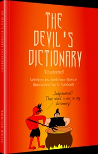 Book cover: The Devil's Dictionary (Illustrated)