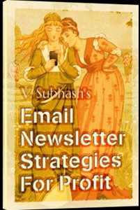 Book cover: Email Newsletter Strategies For Profit