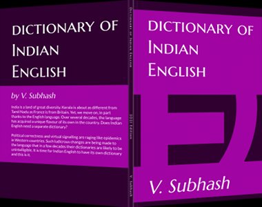 Book cover: Book cover: Dictionary Of Indian English