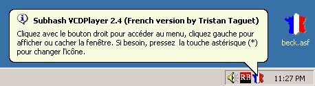 French version of Subhash VCDPlayer